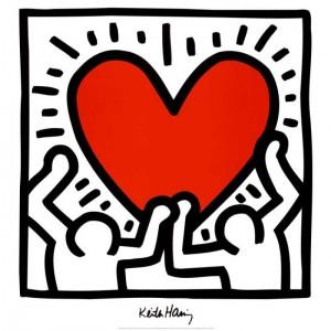 Keith Haring - Heart